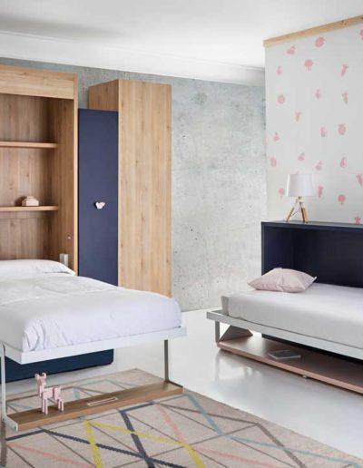 dormitorio juvenil abatible
