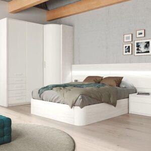 Dormitorio rincón poco fondo