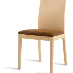 silla respaldo bajo madera