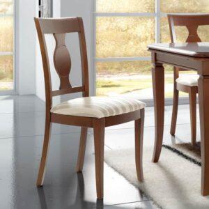 silla clásica color cerezo
