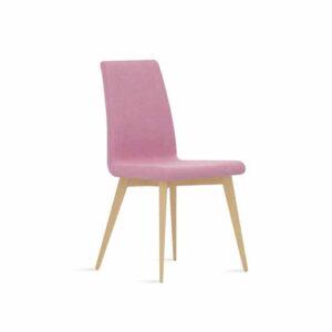 silla respaldo bajo nórdico
