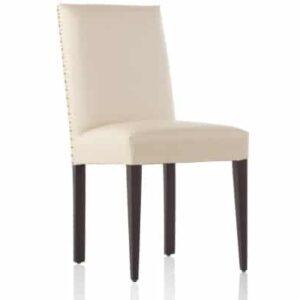 silla respaldo recto