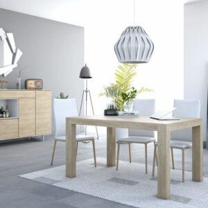 mesa extensible rectangular madera